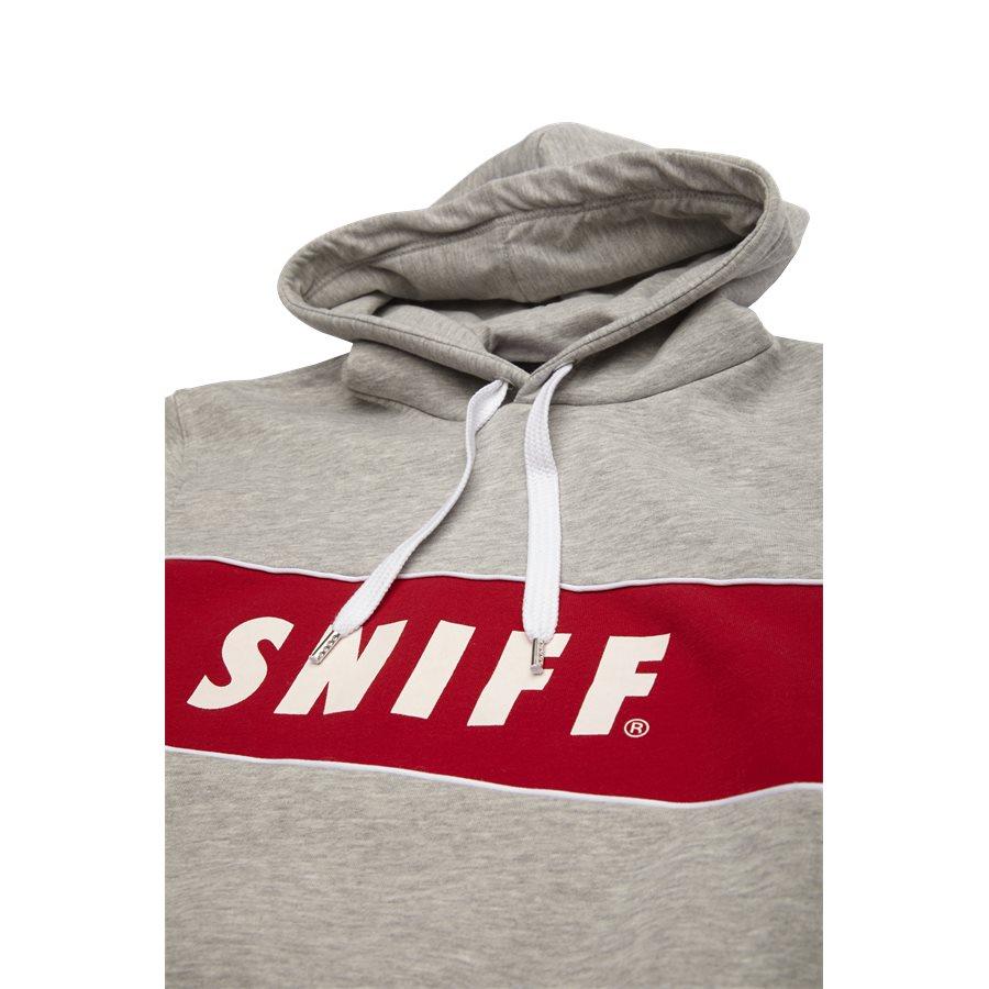 FAYETTE - Fayette Sweatshirt - Sweatshirts - Regular - GREY MELANGE - 3